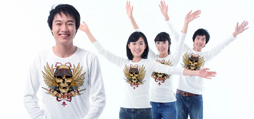 線上T恤設計印刷系統 與 EPSON棉T直印機 SC F2000 發表會